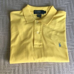 Yellow polo shirt by Polo by Ralph Lauren, size M